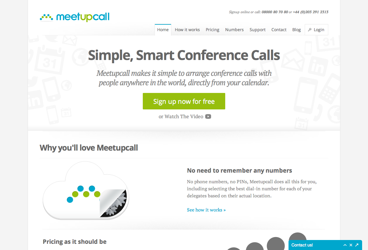 Meetupcall Conference Calls