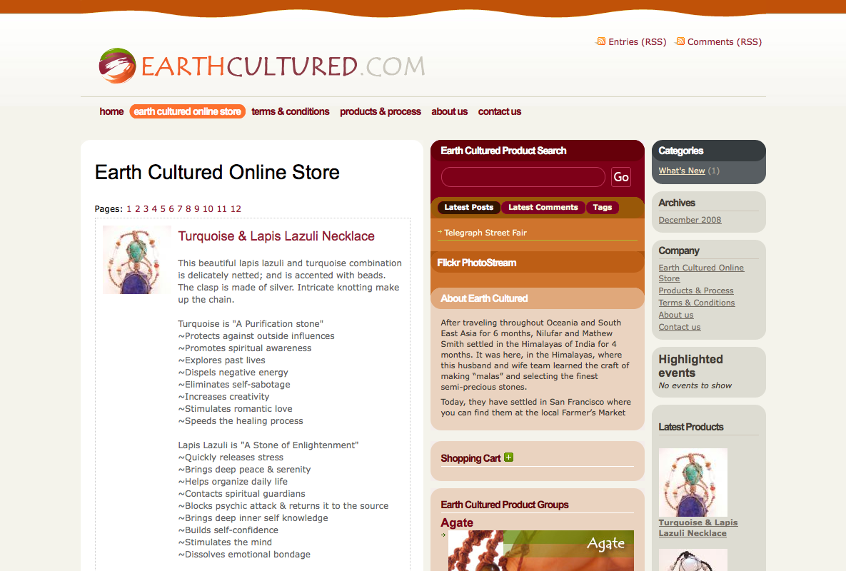 Earth Cultured