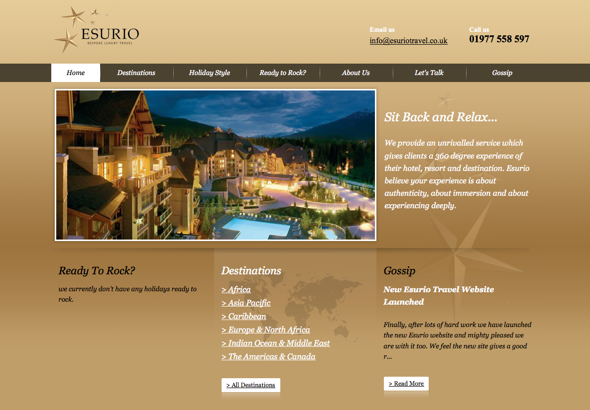 Esurio Travel