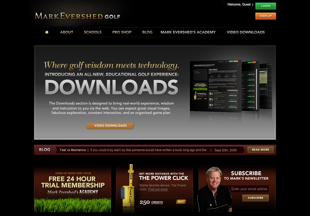 Mark Evershed Golf
