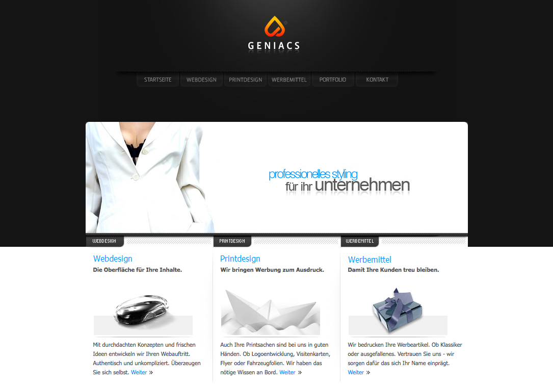 Technology Categorized Website Design Inspiration And